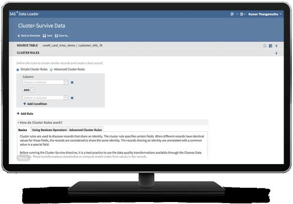 SAS® Data Loader for Hadoop - cluster-service data