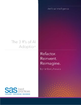 The 3 R's of AI Adoption: Refactor, Reinvent, Reimagine