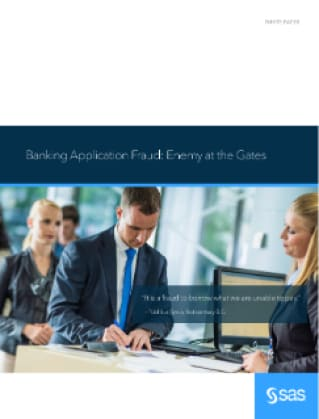 Banking Application Fraud: The Enemy at the Gates