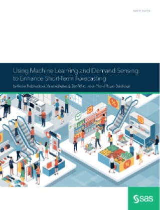 Using Machine Learning and Demand Sensing to Enhance Short-Term Forecasting