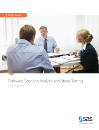 Firmwide Scenario Analysis and Stress Testing
