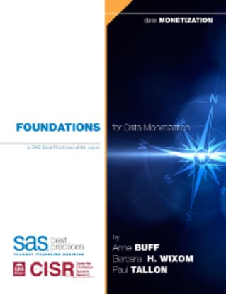 Foundations for Data Monetization