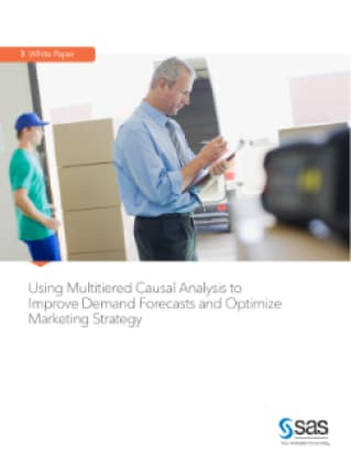 Using Multitiered Causal Analysis to Improve Demand Forecasts and Optimize Marketing Strategy
