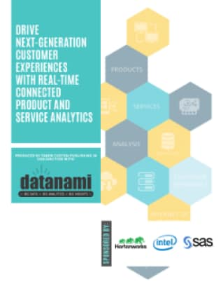Drive Next-Generation Customer Experiences with Real-Time Connected Product and Service Analytics