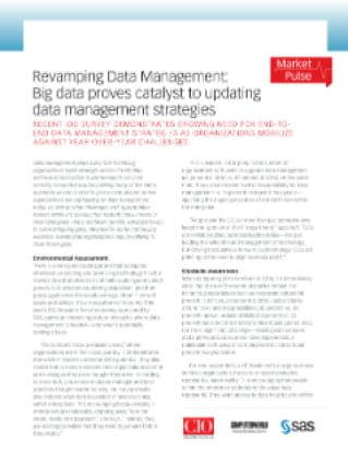 Revamping Data Management