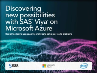Discovering new possibilities with SAS Viya on Microsoft Azure