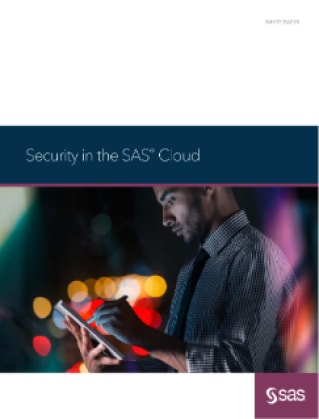 Security in the SAS Cloud