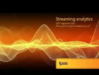 Streaming analytics: Life happens fast. Are your analytics keeping up?