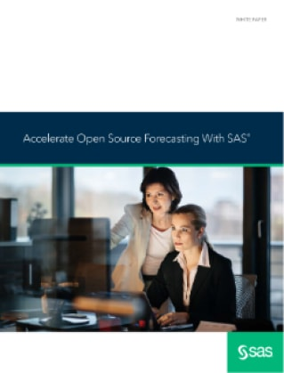 Accelerate Open Source Forecasting With SAS®