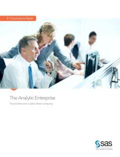 The Analytic Enterprise