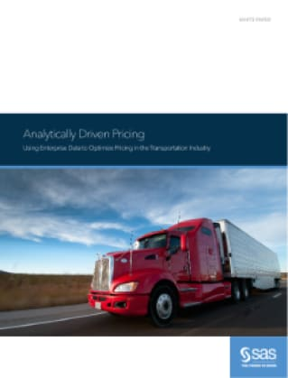 Analytically Driven Pricing