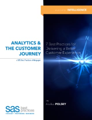 Analytics and the Customer Journey