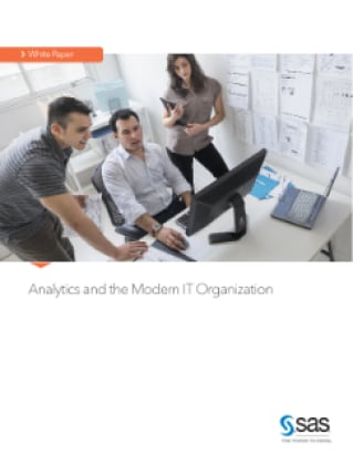 Analytics and the Modern IT Organization