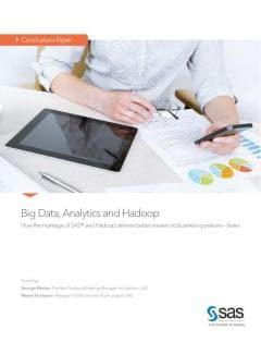 Big Data, Analytics and Hadoop