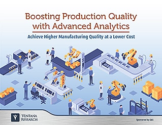 Boosting Production Quality with Advanced Analytics