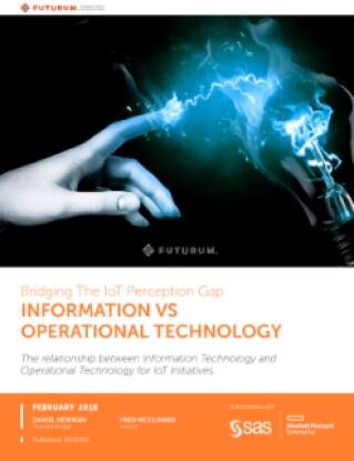 Bridging The IoT Perception Gap: Information vs Operational Technology