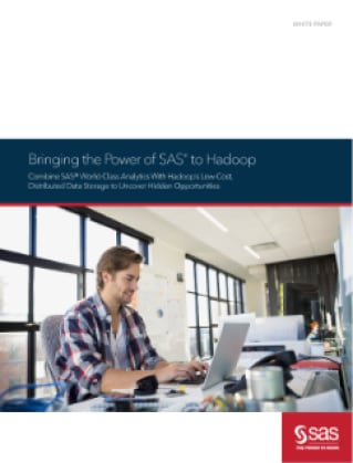 Bringing the Power of SAS to Hadoop