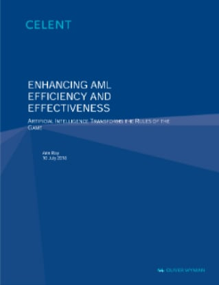 Enhancing AML Efficiency and Effectiveness