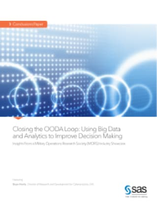 Closing the OODA Loop: Using Big Data and Analytics to Improve Decision Making