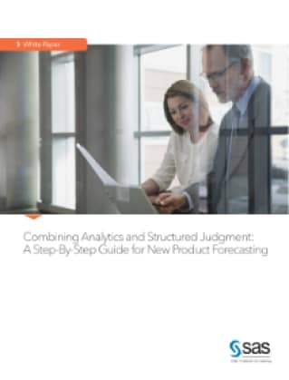 Combining Analytics and Structured Judgment: A Step-By-Step Guide for New Product Forecasting