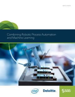 Combining Robotic Process Automation and Machine Learning