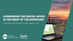 Conquering the Digital Divide in the Midst of the Downturn