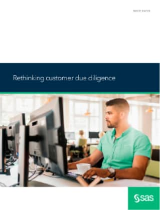 Rethinking customer due diligence