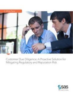 Rethinking customer due diligence