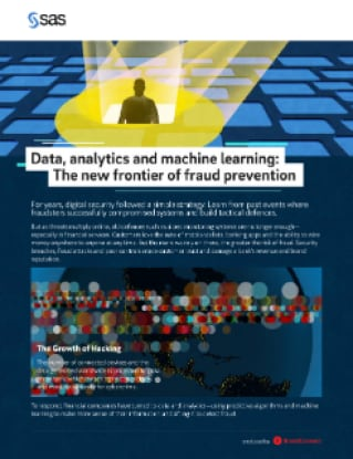Data, analytics and machine learning: The new frontier of fraud prevention