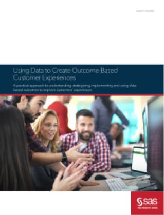 Using Data to Create Outcome-Based Customer Experiences