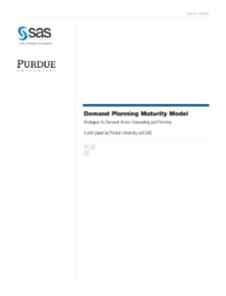 Demand Planning Maturity Model