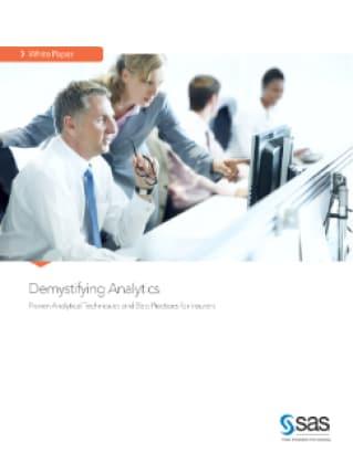 Demystifying Analytics