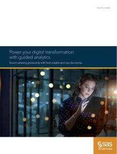 Power your digital transformation with guided analytics
