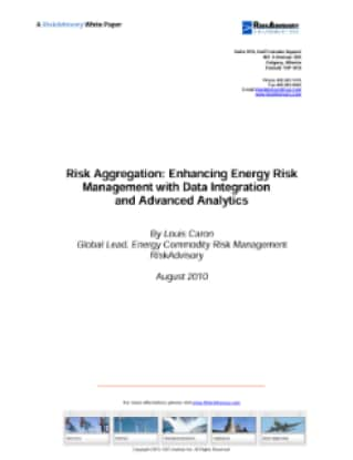 Risk Aggregation: Enhancing Energy Risk Management with Data Integration and Advanced Analytics