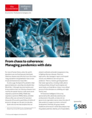 From chaos to coherence: Managing pandemics with data