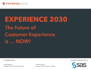 Experience 2030