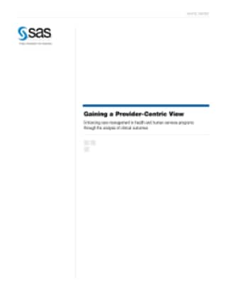 Gaining a Provider-Centric View