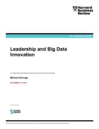 Leadership and Big Data Innovation