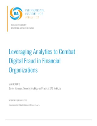 Leveraging Analytics to Combat Digital Fraud in Financial Organizations