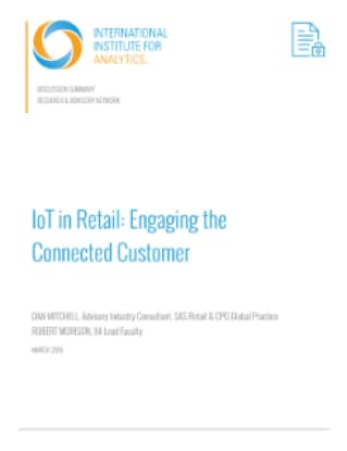 IoT in Retail: Engaging the Connected Customer