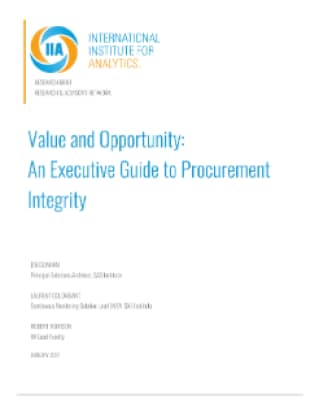 Value and Opportunity: An Executive Guide to Procurement Integrity