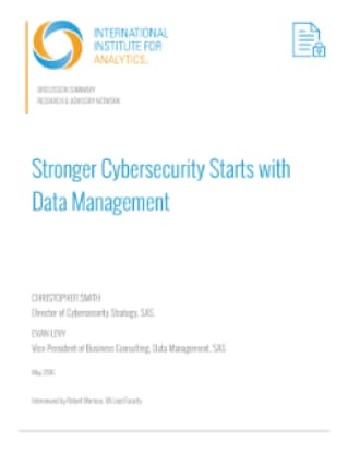 Stronger Cybersecurity Starts with Data Management