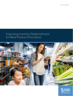 Improving Inventory Replenishment for Retail Product Promotions