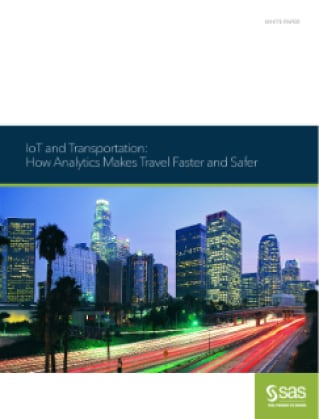 IoT and Transportation: How Analytics Makes Travel Faster and Safer