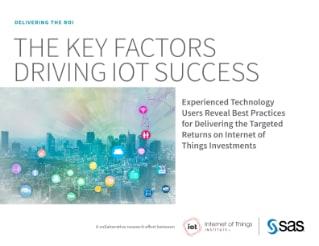 The Key Factors Driving IoT Success