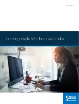 Looking Inside SAS® Forecast Studio