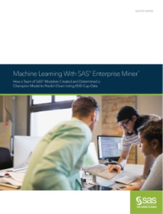 Machine Learning With SAS® Enterprise Miner™