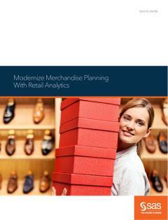 Modernize Merchandise Planning With Retail Analytics