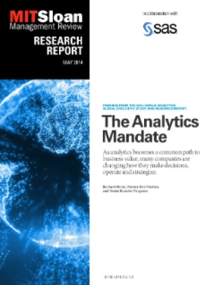 The Analytics Mandate