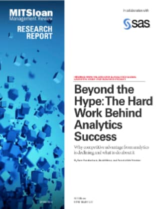 Beyond the Hype: The Hard Work Behind Analytics Success